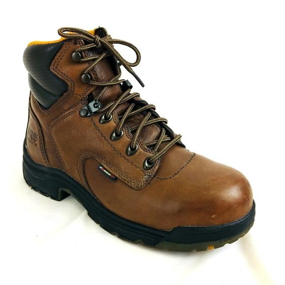 Timberland PRO Titan Safety Toe Work Boot Women 7W.  M 5c1e760fc9bf50fa22527249 5b7cb9b493